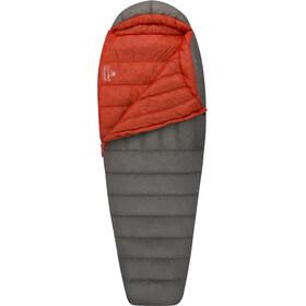 Sea to Summit Flame FmII Sovepose Lang Damer, grå/rød